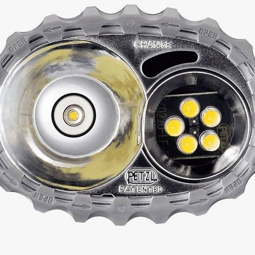 LED, Halogeen Hoofdlamp Petzl Duo LED 5 werkt op batterijen 40 lm 65 h E69P