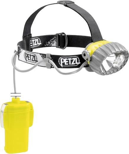 Petzl Duo Belt LED 5 LED, Halogeen Hoofdlamp Geel-zwart Werkt op batterijen