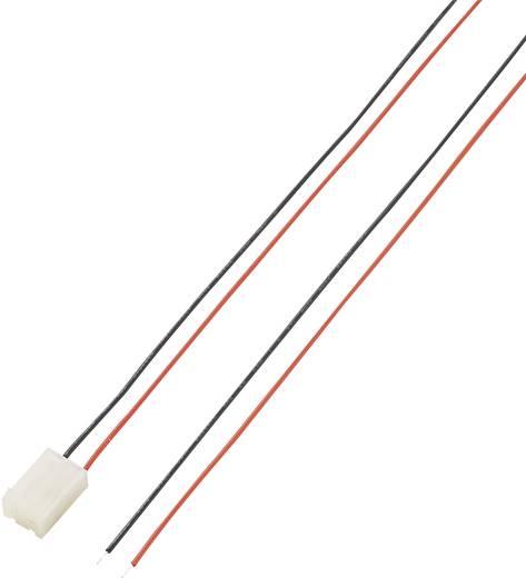 546860 Afgemonteerde kabel Totaal aantal polen 2 Rastermaat: 5.08 mm 1 stuks