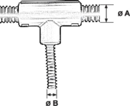 Panduit CF503850F-Q Golfbuis T-verbindingsstuk Inhoud: 1 stuks
