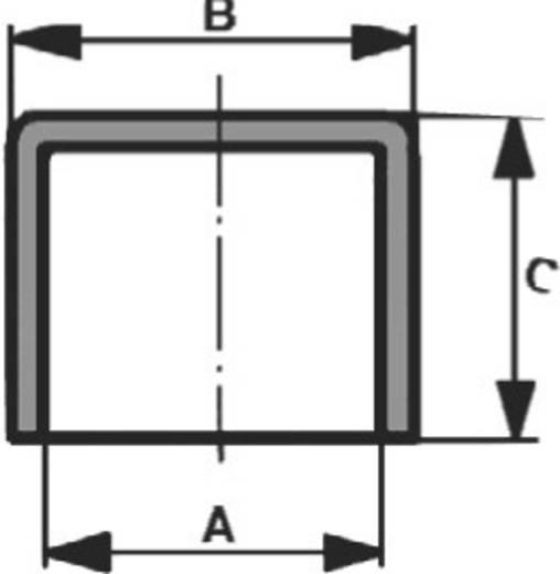 Beschermkap Klem-Ø (max.) 5.7 mm Polyethyleen Naturel PB Fastener 062006000003 1 stuks