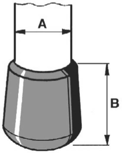 Beschermkap Klem-Ø (max.) 4 mm Polyethyleen Zwart PB Fastener 009 0040 220 03 1 stuks