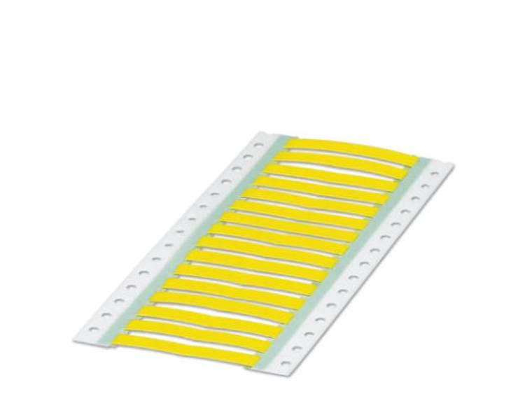 Krimpkousmarkering Montagemethode: Schuiven Markeringsvlak: 30 x 10 mm Geel Phoenix Contact WMS 6,4 (30X10)R YE 0800410 Aantal markeringen: 500 1 rollen