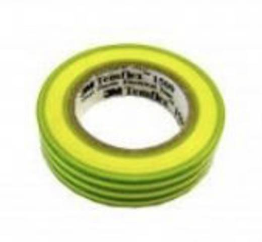 3M Temflex 1500 Isolatietape Groen-geel (l x b) 10 m x 15 mm Inhoud: 1 rollen