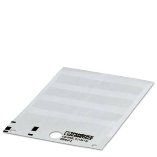 Kabelmarkering Montagemethode: Plakken Markeringsvlak: 13 x 13 mm Geschikt voor serie Enkele aders, Universeel gebruik W