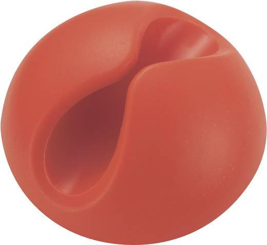 Kabelhouder Zelfklevend Oranje (fluorescerend) 547712 1 stuks