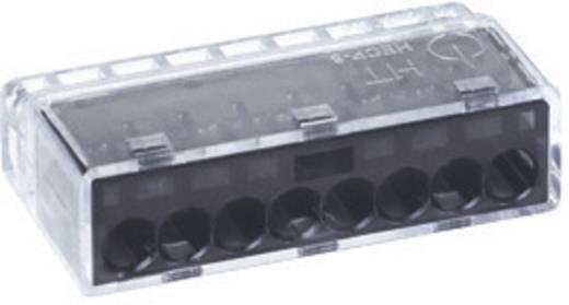 HellermannTyton HECP-8 Verbindingsklem Flexibel: - Massief: 0.5-2.5 mm² Aantal polen: 8 1 stuks Grijs