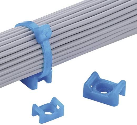 Bevestigingssokkel Schroefbaar Blauw Panduit TM3S10-C76 TM3S10-C76 1 stuks