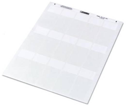 Kabelmarkering Montagemethode: Plakken Markeringsvlak: 47 x 25 mm Geschikt voor serie Enkele aders, Universeel gebruik T