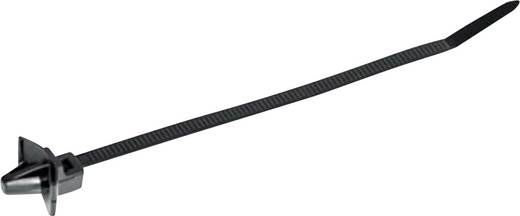 HellermannTyton 126-02204 T50SSL5-HS-BK-D1 Kabelbinder 135 mm Zwart Met spreidanker, Hittegestabiliseerd 1 stuks