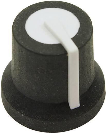 Cliff CL170822BR Draaiknop Zwart/wit (Ø x h) 16.8 mm x 14.5 mm 1 stuks