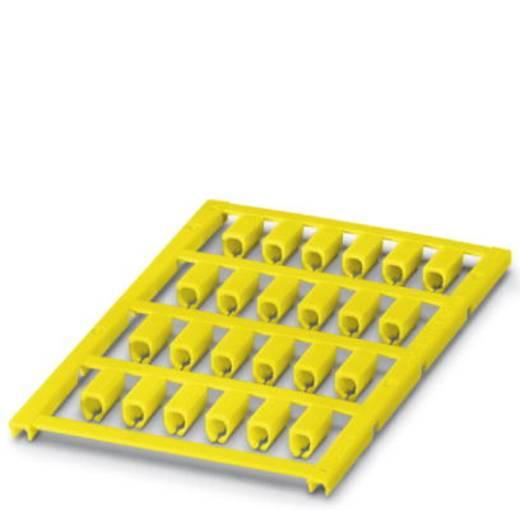 Kabelmarkering Montagemethode: Vastklemmen Markeringsvlak: 12 x 5 mm Geschikt voor serie Enkele aders Geel Phoenix Conta