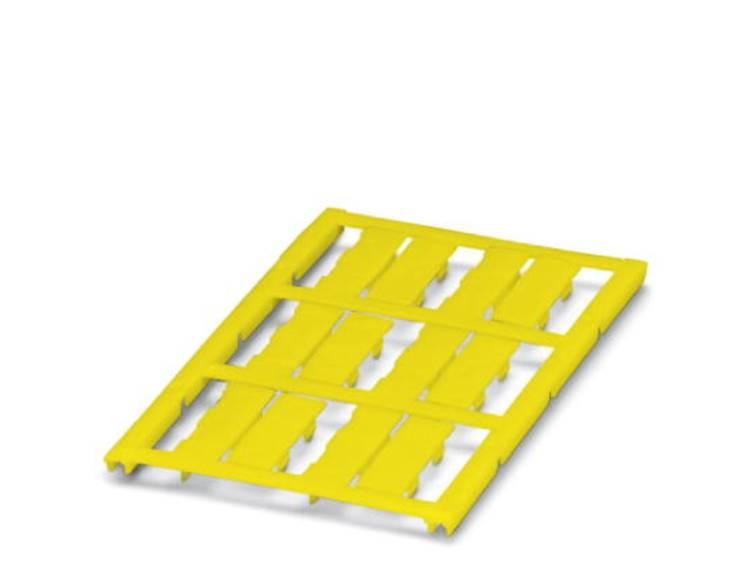 Kabelmarkering Montagemethode: Vastklemmen Markeringsvlak: 23 x 8 mm Geschikt voor serie Enkele aders Geel Phoenix Contact UC-WMC 5,6 (23X8) YE 0825386 Aantal