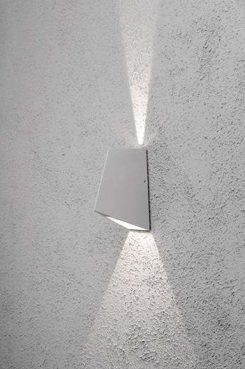 Buiten LED-wandlamp Zilver-grijs 8 W Konstsmide Imola Up & Down 7928-310
