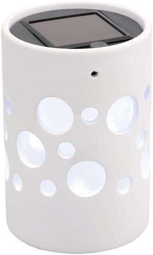 Konstsmide Zonnecellamp Genova cilinder 7800-200 LED 6 h Wit LED vast ingebouwd