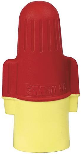 3M Aderverbinder Flexibel: 2-16 mm² Massief: 2-16 mm² Aantal polen: 2 1 stuks Rood, Geel