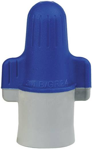 3M B/G+ Aderverbinder Flexibel: 10-31.6 mm² Massief: 10-31.6 mm² Aantal polen: 2 1 stuks Blauw, Grijs