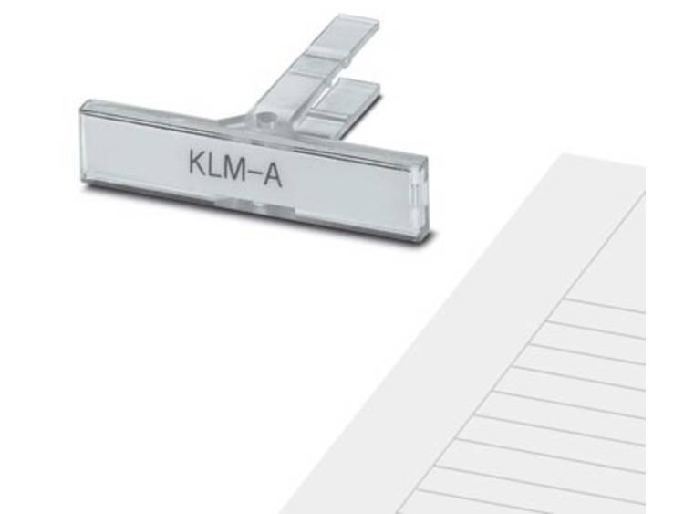 Apparaatmarkering Montagemethode: Schuiven Markeringsvlak: 44 x 7 mm Geschikt voor serie Frames Wit Phoenix Contact ES/KLM-A 1004351 Aantal markeringen: 1360