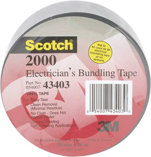3M Scotch 2000 PVC-plakband Grijs (l x b) 46 m x 50 mm Rubber Inhoud: 1 rollen