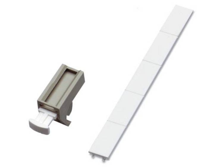 Kabelmarkering Montagemethode: Vastklemmen Geschikt voor serie Enkele aders Phoenix Contact GKM 2 GY 1750485 100 stuks