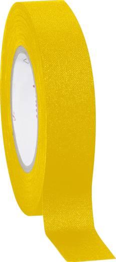 Coroplast 800 Textieltape Geel (l x b) 10 m x 15 mm Rubber Inhoud: 1 rollen