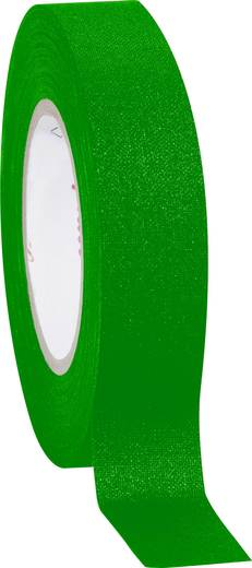 Coroplast 800 Textieltape Groen (l x b) 10 m x 15 mm Rubber Inhoud: 1 rollen
