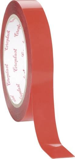 Coroplast Dubbelzijdige tape-set Grijs (l x b) 1.5 m x 19 mm Acryl Inhoud: 1 set
