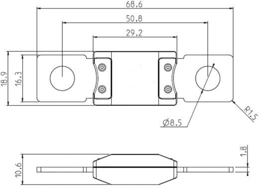 ESKA 341320 Hoogvermogenzekering 200 A 32 V 1 stuks