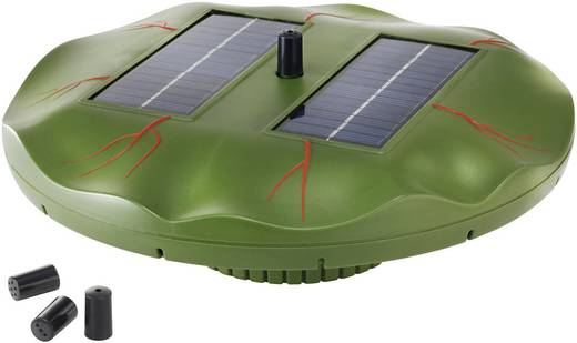 Esotec Näckros 101770 Drijvende vijverpomp op zonne-energie 160 l/h