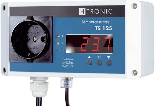 Temperatuurschakelaar -55 tot 125 °C 3000 W H-Tronic TS 125