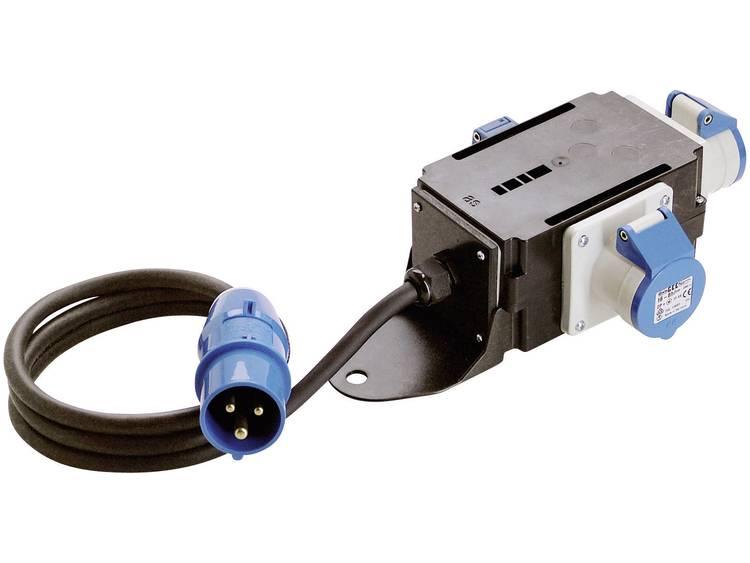 AS Schwabe 60496 Camping stroomverdeler 16 A 230 V-AC H07RN-F 3G 2,5 mm² IP44