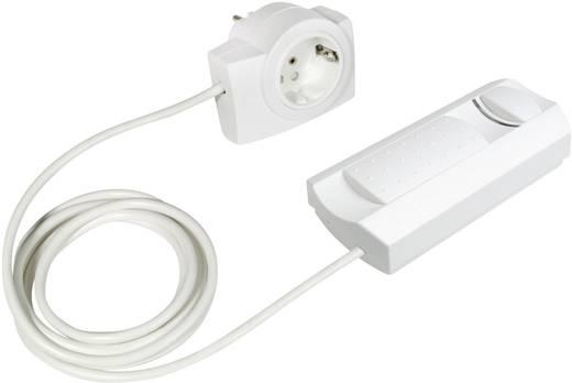 Ehmann 2660x0109 Snoerdimmer Geschikt voor lampen: Halogeenlamp, Gloeilamp Wit