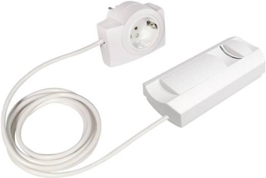 Ehmann 2660x0009 Snoerdimmer Geschikt voor lampen: Halogeenlamp, Gloeilamp Wit