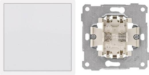 PERA Inbouw Kruisschakelaar Pera Wit 105002