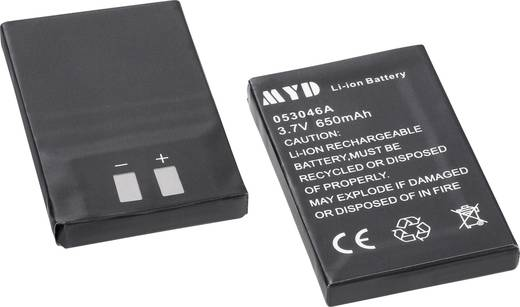 Accupack voor Intercom, m-e modern-electronics FS-2 Akku