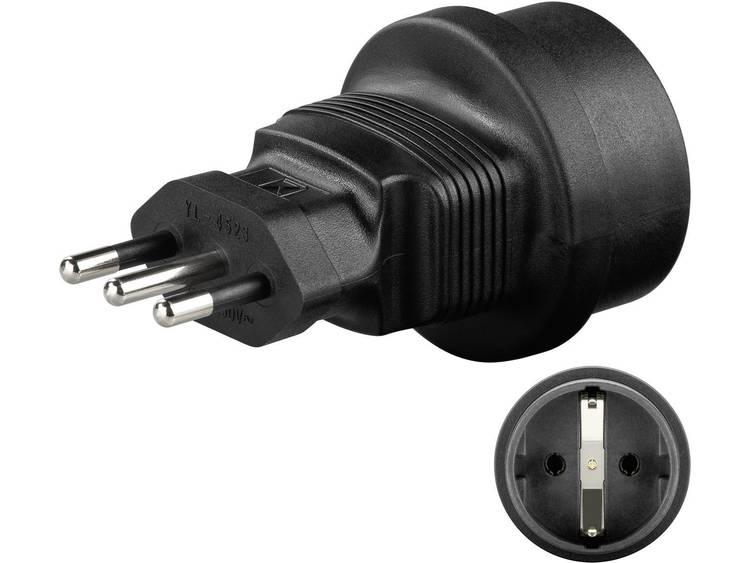 Microconnect Universal adapter Italy-Schuko (PETRAVEL2)