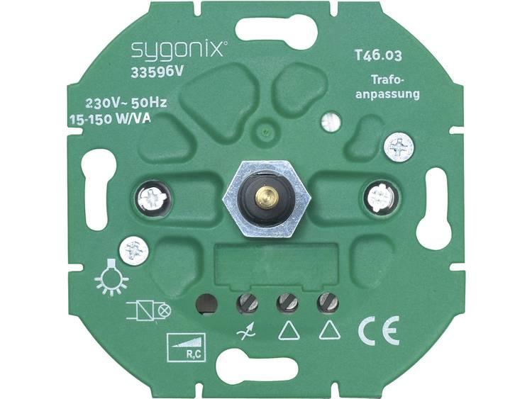 sygonix LED dimmer 15 150 W LED-dimmer, ohmsche en capacitieve belasting 33596V