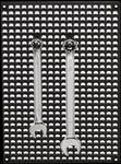 Set geperforeerde platen 2-delig + 80-delige accessoireset