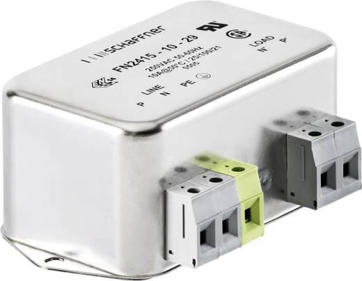 Schaffner FN2415-10-29 Ontstoringsfilter 250 V/AC 10 A 1 stuks