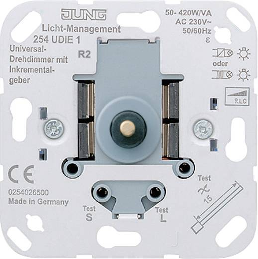 Jung Inbouw Dimmer LS 990, AS 500, CD 500, LS design, LS plus, FD design, A 500, A plus, A creation, CD plus, SL 500 2