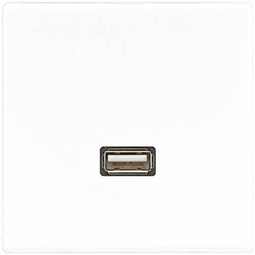 Jung Inbouw USB-stekkerdoos LS 990, LS design, LS plus Crème-wit MALS1122