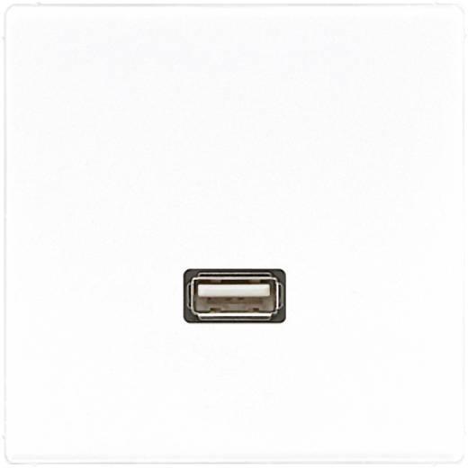 Jung Inbouw USB-stekkerdoos LS 990, LS design, LS plus Alpine-wit MALS1122WW