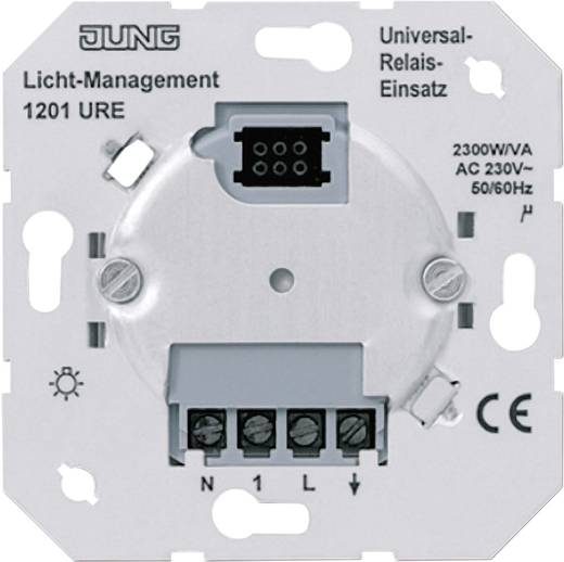 Jung Inbouw Dimmer, Relais schakelgebruik LS 990, AS 500, CD 500, LS design, LS plus, FD design, A 500, A plus, A creat