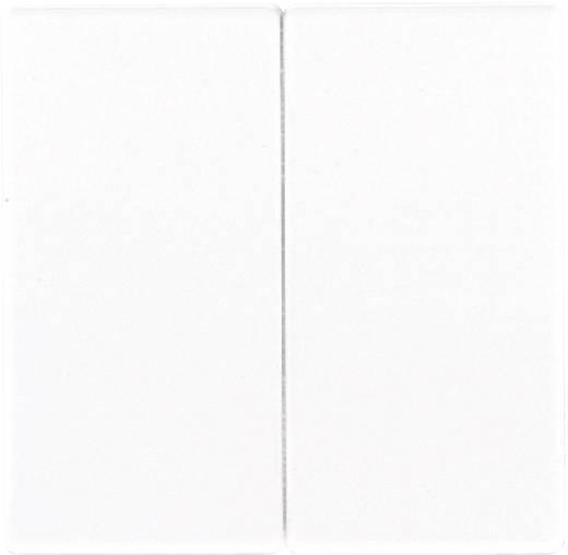 Korte-slagknop voor serietastdimmer serie LS wit