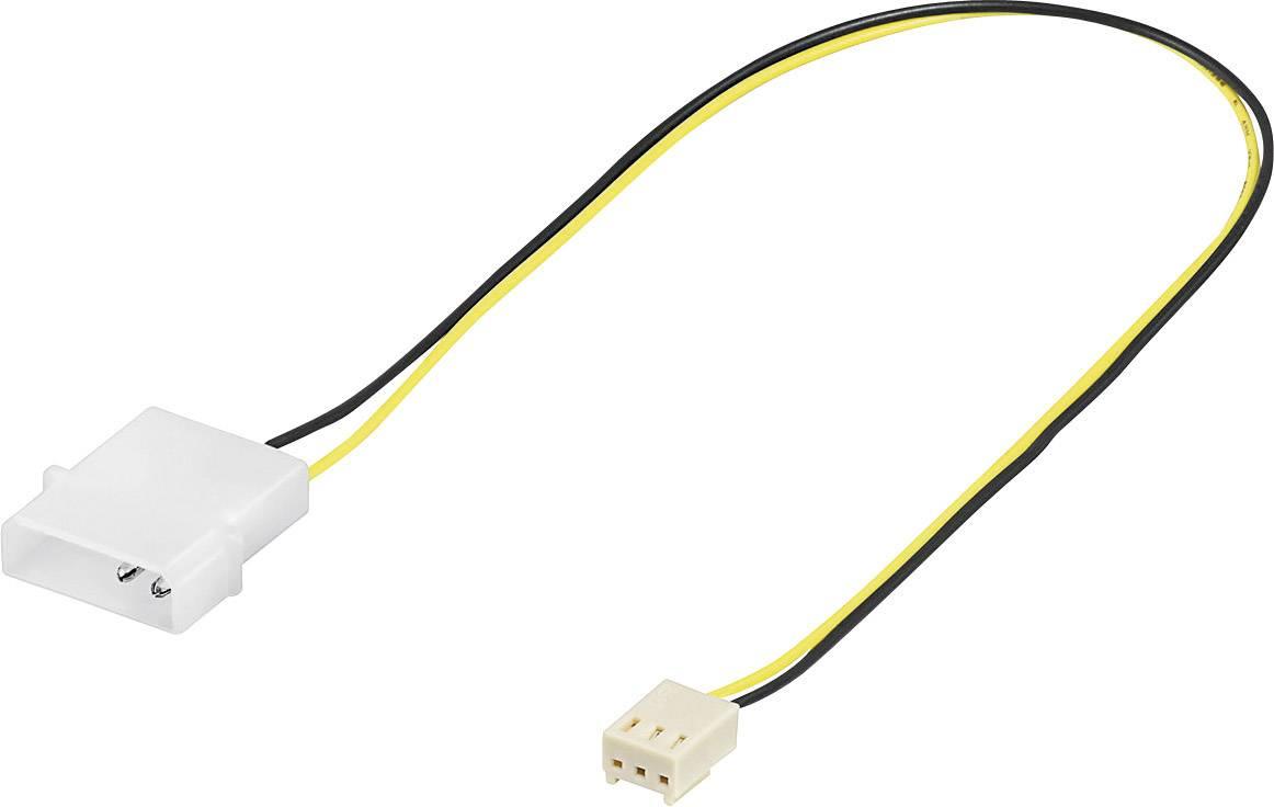 Kabel PC-ventilator [1x PC-ventilator bus 3-polig - 1x IDE-stroombus ...