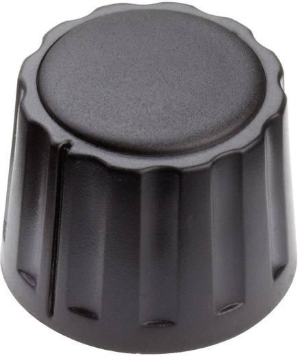 Mentor 4332.4000 Draaiknop Zwart (Ø x h) 20 mm x 15 mm 1 stuks