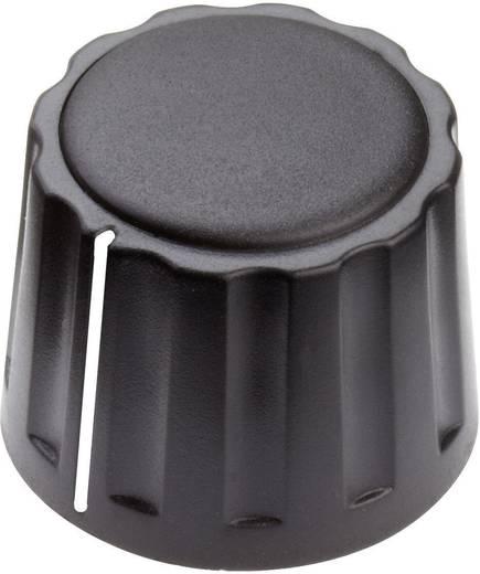 Mentor 4332.4001 Draaiknop Met wijzer Zwart (Ø x h) 20 mm x 15 mm 1 stuks