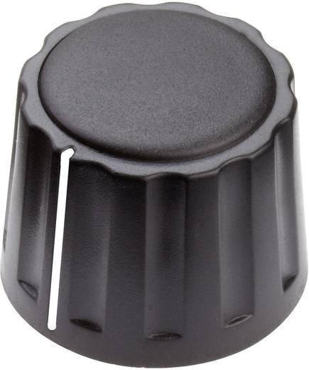 Mentor 4332.6001 Draaiknop Met wijzer Zwart (Ø x h) 20 mm x 15 mm 1 stuks