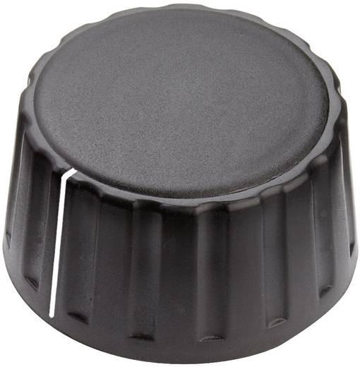 Mentor 4334.6001 Draaiknop Met wijzer Zwart (Ø x h) 36 mm x 18.5 mm 1 stuks