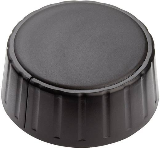 Mentor 4335.6000 Draaiknop Zwart (Ø x h) 48 mm x 19 mm 1 stuks